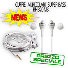 AURICOLARI BH320 M3 Super Bass Earphone Headphones High-Resolution Audio Headset