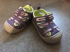 girls shoes size 2 Oshkosh Purple