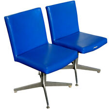 (2) Vintage Good Form Swivel Aluminum Arm Chairs (MR10004) 6 pairs available