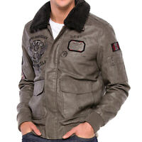 CIPO & BAXX AIR FORCE MENS BOMBER JACKET CM164 ALL SIZES