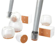 8pcs Non Slip Silicone Chair Legs Caps Pad Furniture Feet Cover Floor Protectors