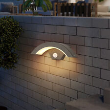 More details for waterproof outdoor led wall light pir sensor hallway stairs night lamp