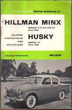 Hillman Minx Series I II III IIIA, B, C & Husky I & II Olyslager Motor Manual 97