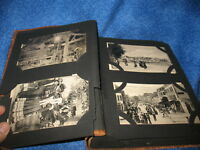 Postcard Album Over 135 Antique Cards Europe Unused Divided Back Great Condition