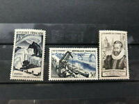 France, 1956 Y&T 1080, 1946 Y&T 754, 1949 Y&T 829 3 MNH stamps,  VF CV $ 21