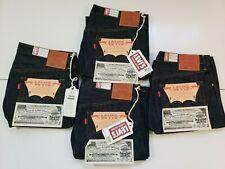 Levi's LVC Big E 1944 S501XX Jeans WW2 Raw Indigo Selvedge USA Cone Denim sz 34