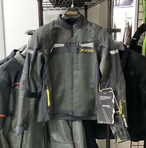 Klim Avalon Womens Jacket Dark Gray Size Large 3914-000-140-660
