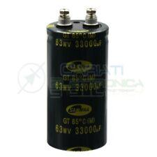 Condensatore elettrolitico SAMWHA Snap in 33000 uF 33000uf 63v 85°c 51x100mm