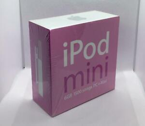 Rare Vintage New Sealed Apple iPod Mini 6GB 2nd Generation - Pink (M9805LL/A)