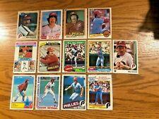Mike Schmidt 1976-89 Topps Fleer Drakes 13 Card Lot (13)