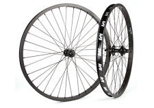 REVENGE COMPLETE WHEEL 26 INCH SET WHEELS BLACK FRONT FIT S&M BMX 26""