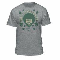 Bob Ross Happy Little Clovers St. Patrick's Day T-Shirt