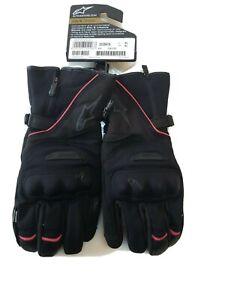 Alpinestars Primer Drystar Street Bike Gloves Black Red X-Large Gauntlet