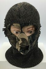 Vintage Winter Full Face Ski Mask Camouflage Snowmobile Snowboard Hunting