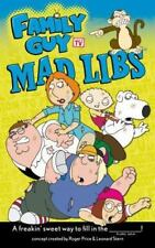 Family Guy Mad Libs Price, Roger, Stern, Leonard Paperback Used - Good