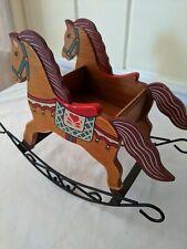 Vintage Rocker Horse Tabletop Decoration
