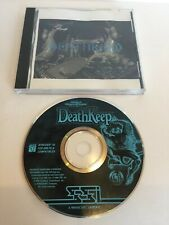 DeathKeep SSI AD&D PC CD-ROM Game 1996.