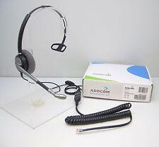 ADD700/01 Headset for Avaya Mitel Polycom Digium Toshiba Hybrex NEC Aspire 3Com