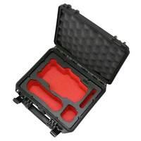 TOMcase DJI Mavic Air 2(!) Koffer Case Kompakt Edition Schwarz Inlay Rot/Schwarz