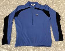 Women's Pearl Izumi Ultra Sensor Cycling Jersey 1/2 Zip Pullover Large L, Euc
