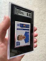 2011 Panini UEFA Champions League Kevin De Bruyne ROOKIE SGC 8.5 📈🔥 Man. City