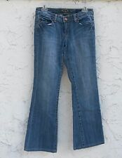"Women's 7 Seven For All Mankind Flare Jeans Size 28 - 28"" Inseam - Free Shipping"