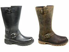Zip Leather Mid-Calf Boots Wide (C, D, W) Shoes for Women