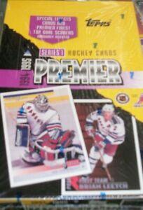 1994-95 TOPPS PREMIER HOCKEY SERIES 1 SEALED BOX