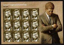 John Fitzgerald Kennedy - Forever 2017 Sheet of 12 MNH