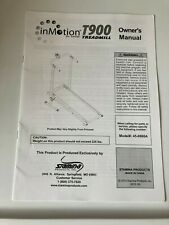inMotion for Health T9000 Treadmill Owner's Manual - Model #45-0900A