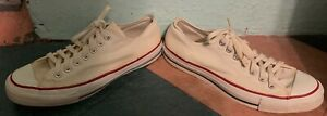 VINTAGE 1960's/70's CONVERSE ALL STAR LOW TOP MADE IN USA SHOES - SIZE 10