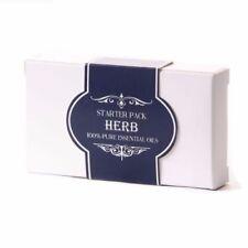 Prodotti di profumo erbe olio essenziale per aromaterapia