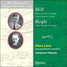 Hill & Boyle: Piano Concertos (Romantic Piano Concertos 69 HYPERION Piers Lane)