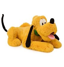 "Disney Store Authentic Pluto Dog BIG Stuffed Animal Plush 17"" Soft Gift NEW !"