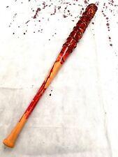 Bate De Béisbol Accesorio Réplica Lucille sangriento alambre de espino Halloween Arma Negan PU