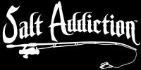 Saltwater fishing decal,Salt Addiction sticker,spinning reel,offshore,life