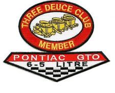 """AWESOME"" CUSTOM PONTIAC GTO TRI POWER PATCH OR 2+2 your choice"