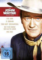 JOHN WAYNE JUBILÄUMS BOX: EL DORADO/DER MARSHALL/RIO LOBO/+  5 DVD NEU