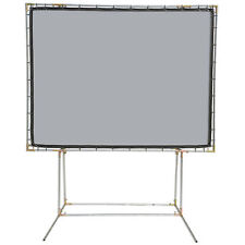 Carl's FlexiGray 4:3, 9x12 FreeStanding Projector Screen Kit, High Contrast Gray