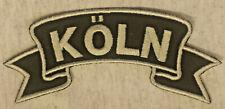 Patch Aufnäher Köln BIKER ROUTE 66 MOTORRAD KUSTOM VINTAGE V8 RETRO USA 109