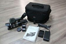 Sony NEX-VG10 Interchangeable Lens Handycam Camcorder + 18-200mm + 2 Batt. + Bag