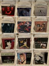 Huge Rock Pop 80's 7� Vinyl 45 Rpm - Random Lot You Get 20 Vinyls For $22