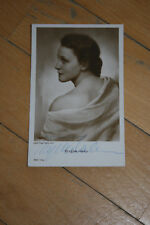 Brigitte Helm ,Ross Nr 3464/1,,signierte Autogrammkarte ,(A1)