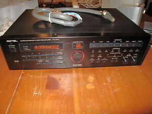 Rotel Surround Sound Preamp RTC 970. Used. Works.