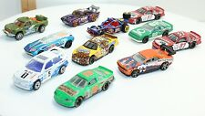 11 Hotwheels Racing Cars Quaker Snickers Mobil Excedrin Stunt Great Fun Play Lot