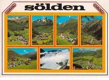 Solden Tirol Austria Postcard Unused VGC