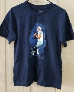 NFL Dallas Cowboys Dak Prescott Youth Sz L (16-18) Shirt D400Y * NEW WITH TAGS