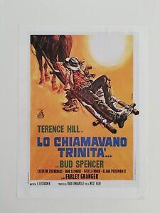 Clipping Ritaglio Locandina LO CHIAMAVANO TRINITÀ Terence Hill Bud Spencer 1970