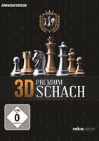 3D Premium Schach - Chess - Schachspiel für Windows - 3D Schach - ESD - Download