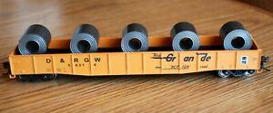 D&RGW  Gondola w/load  #56314 Bachmann HO no box